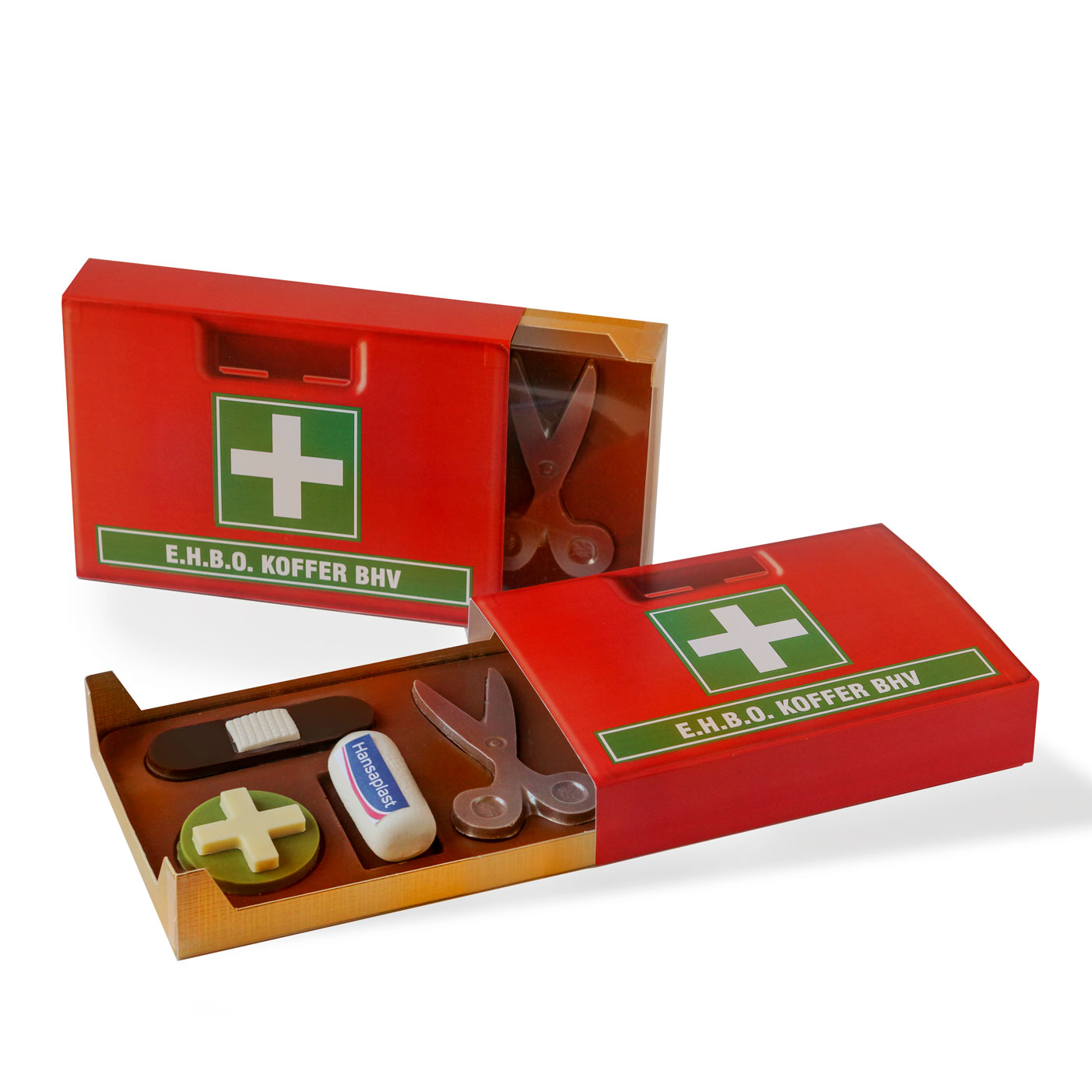 EHBO chocolade geschenk BHV