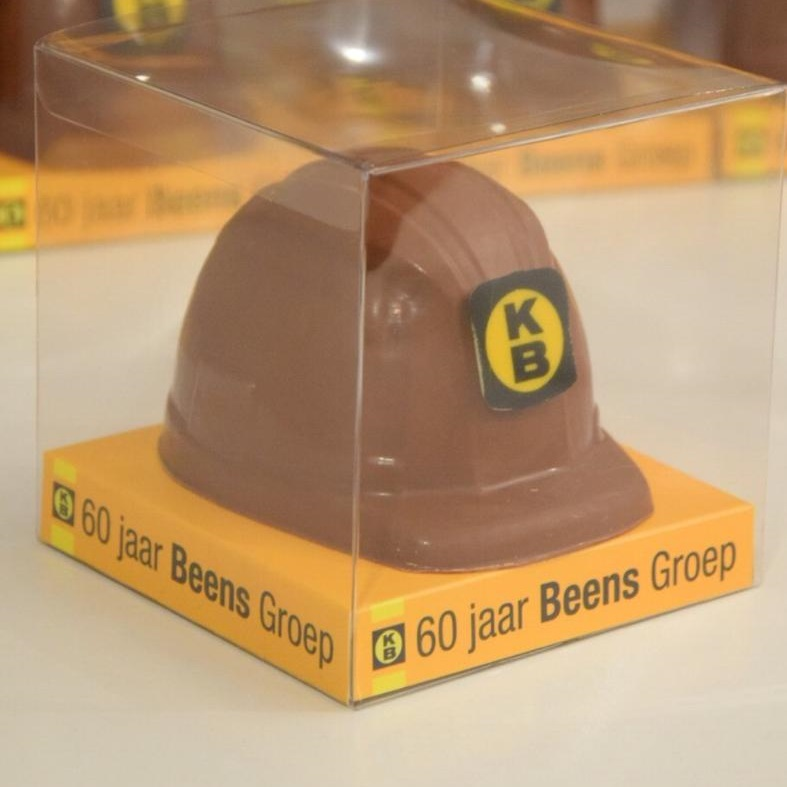 Chocolade relatiegeschenk bouwbedrijf Beens